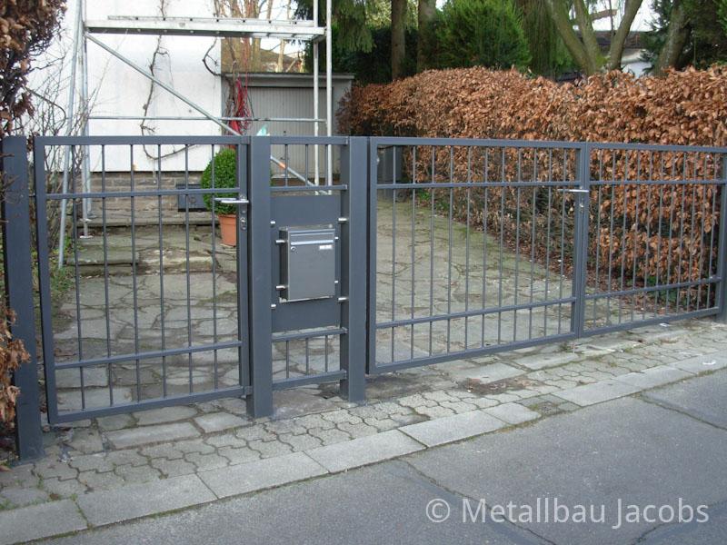 Metallbau Jacobs Zaun Und Toranlagen